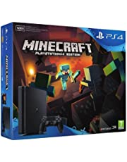 Sony Playstation 4 Slim + Minecraft Nero 500 GB Wi-Fi
