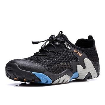 84aaaf78cae53e YXLONG Large Size Net Schuhe Männer Sommer Atmungsaktive Mesh-Sportschuhe  Outdoor-Klettern Schuhe Große
