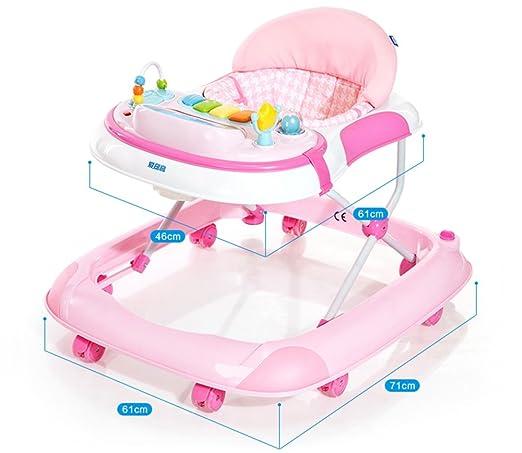 Caminante del bebé de vuelco bebé multifuncional andador para ...
