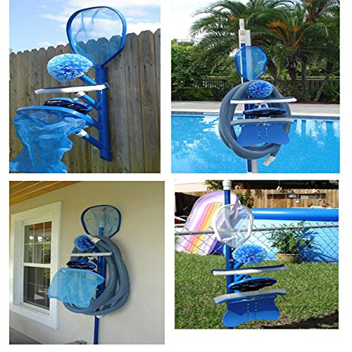 Swimming Pool Pelican Pool Caddy Equipment Maintenance Accessory Holder- Perfect for Commercial and Residential Pools Spas (The Pool Sweeper compare prices)