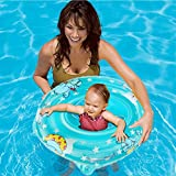 Inflatable Baby Pool Float Bath Seat Swimming Ring For Kids Toddler,safety Swim Floaties With Chair Tube Seats Children Bathtub Seat Boat Floaty For Infant Early Learning Swimming And Play Water Fun