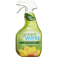 3-Pack Green Works Multi-Surface Cleaner Spray Bottle, Original Fresh, 32oz
