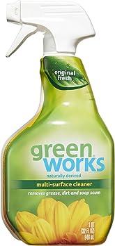 3-Pack Green Works Multi-Surface Cleaner Spray Bottle