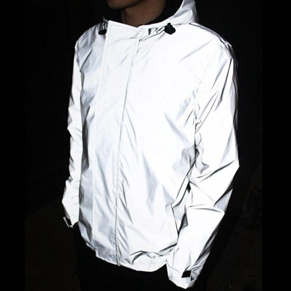 lukloy ré flé chissant 3 m veste pour homme impermé able coupe-vent sans danger pour Nuit Moto Shenzhen M-Home Co. Ltd