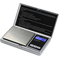 AMERICAN WEIGH SCALES AWS AWS-1KG Digital Pocket Scale, 0in. x 0in. x 0in, Silver