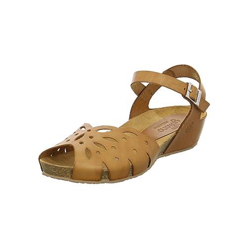 Elena Vaque 023 Vestir Yokono Tost Piel Para Sandalias Mujer De 8n0mwN