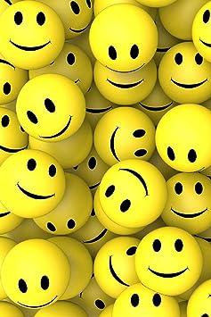 ToysStock Smiley Face Sponge Ball Release Pressure Yellow for Kids Men Women Adult Pack of 5