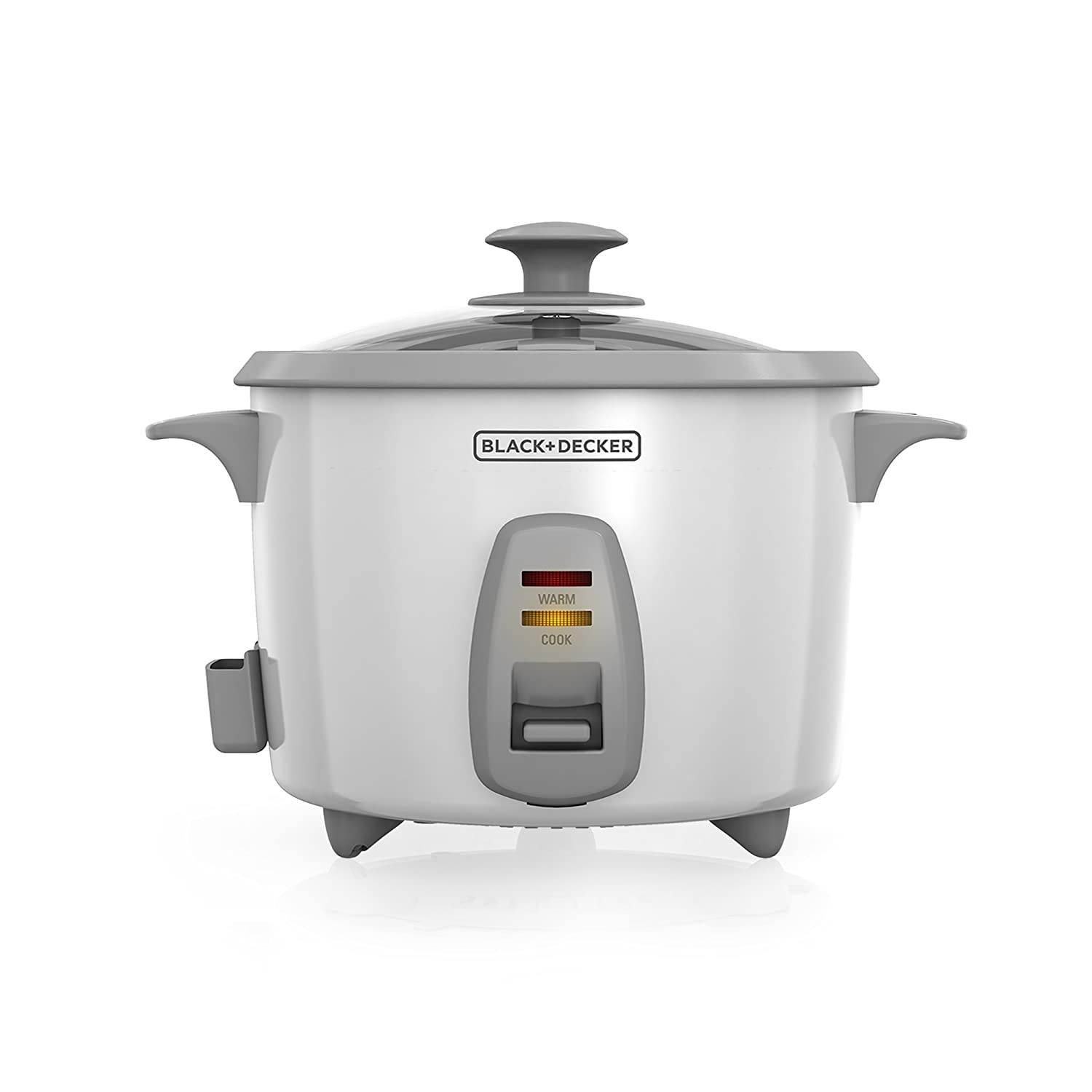Amazon.com: BLACK+DECKER RC436 7-Cup Dry/16-cup Cooked Rice Cooker, White:  Black And Decker Rice Cooker Plus: Kitchen & Dining