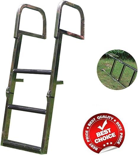 glorious_nx Escalera doble para piscina, 3 peldaños, de acero inoxidable, resistente, plegable, escalera: Amazon.es: Deportes y aire libre