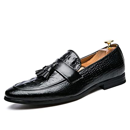 a00af9cbeee3 Amazon.com: Starttwin Mens Formal Shoes Fashion Elegant Tassel Dress ...