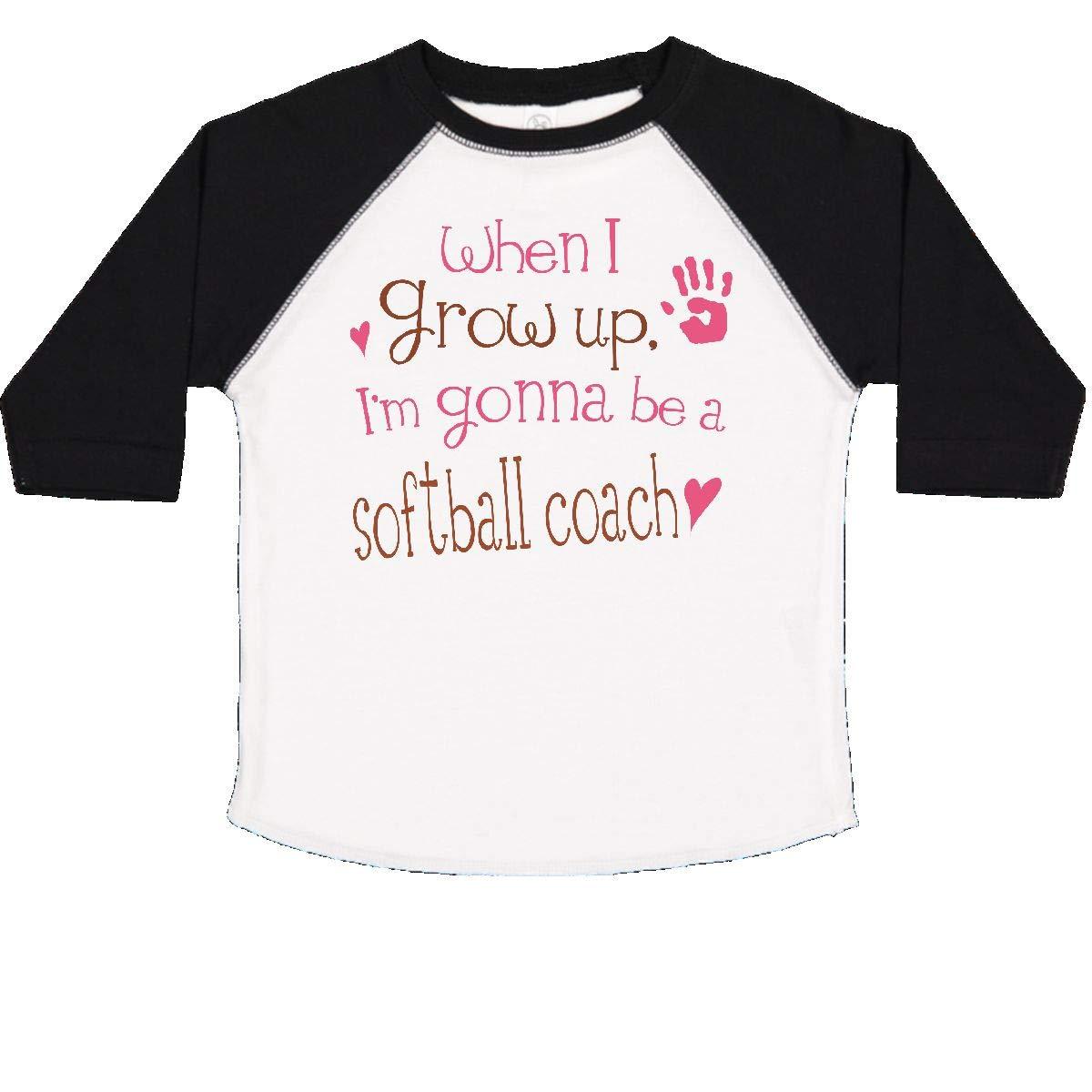 inktastic Softball Coach Future Toddler T-Shirt