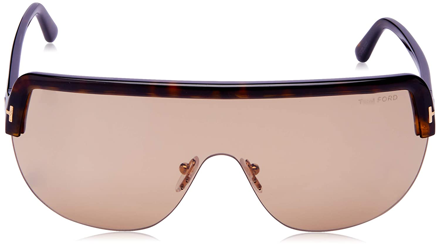 4a053a5bb45c6 Sunglasses Tom Ford FT 0560 Angus- 02 52E dark havana brown at Amazon Men s  Clothing store