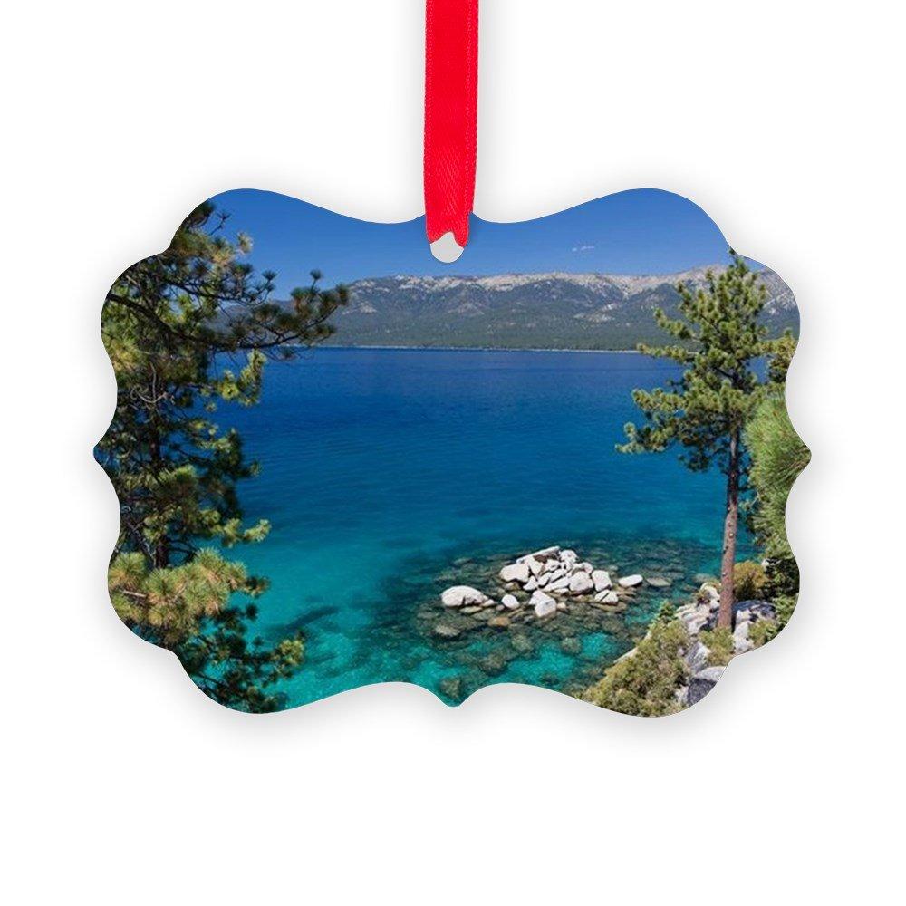CafePress - Lake Tahoe - Christmas Ornament, Decorative Tree Ornament