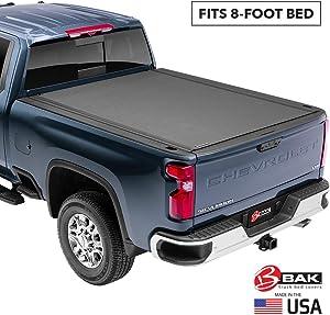 BAK Revolver X4 Hard Rolling Truck Bed Tonneau Cover | 79214 | Fits 2009-20 Dodge Ram 8' Bed,Premium Matte Finish