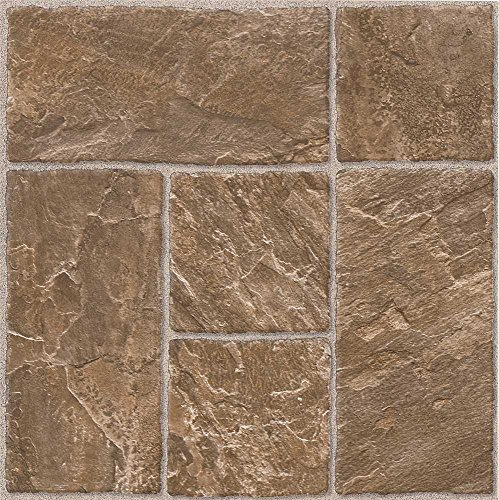 12x12 Beige Tile Flooring - ARMSTRONG WORLD INDUSTRIES 25229 Honey Beige 1.65mm (0.065