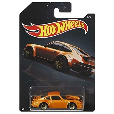 Hot Wheels 1:64 Scale Orange Porsche 934 Turbo RSR #5/6 Diecast Model Car: Toys & Games