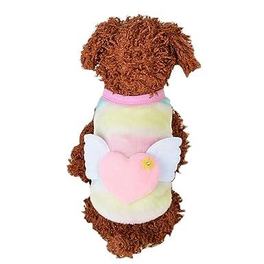 Fossrn Ropa Perro Pequeño Invierno Mascota Gato Cachorro Abrigo de Punto Cálido Chaleco Chaqueta para Chihuahua Yorkshire Pomerania: Amazon.es: Productos ...