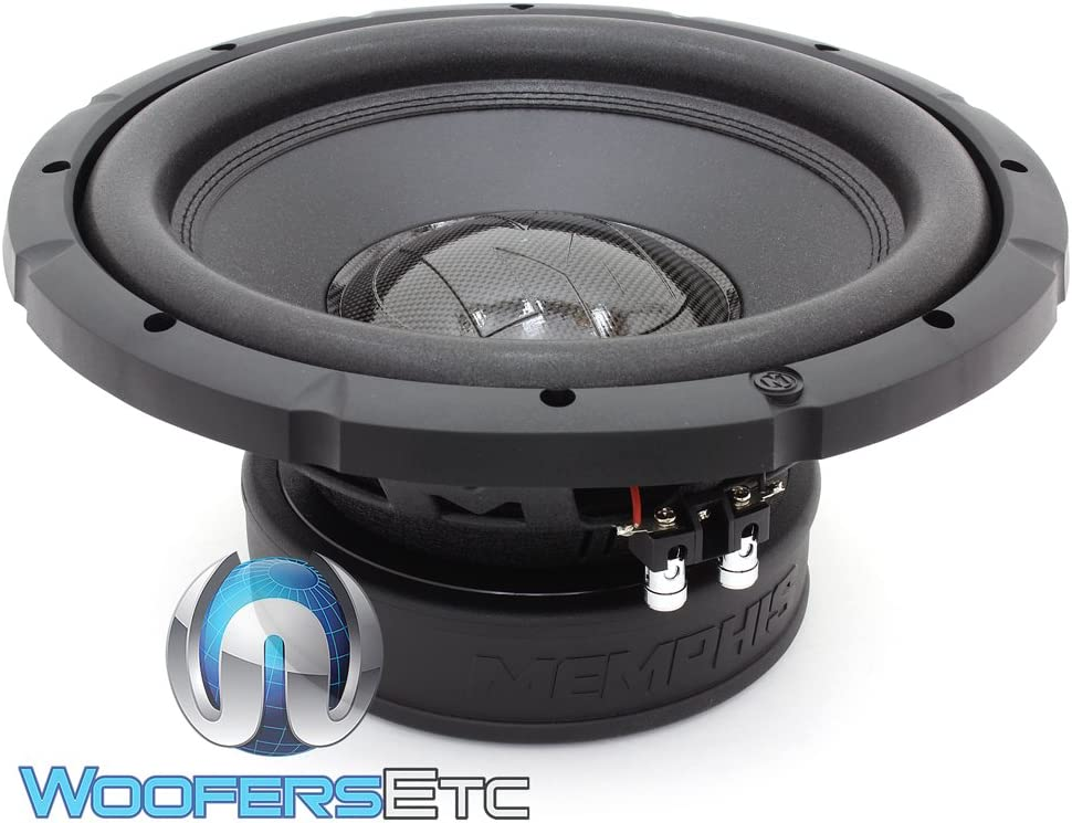 Memphis BRX1244 12 400 Watts RMS Dual 4-Ohm Bass Reference Series Subwoofer