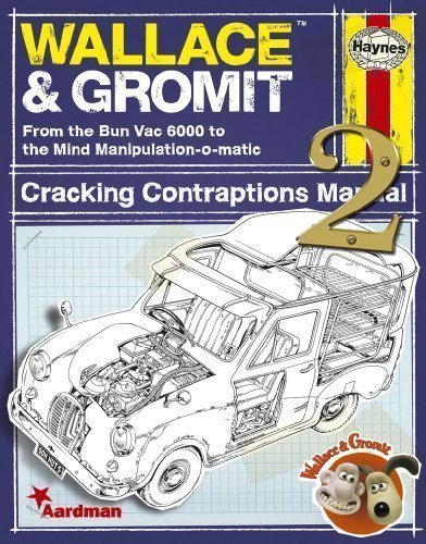 Wallace & Gromit: Cracking Contraptions Manual 2 (Haynes Manual) by Smith, Derek (2011) Hardcover