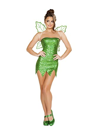 Amazon.com Mischievous Fairy Costume Sexy Green Fairy Costume Clothing  sc 1 st  Amazon.com & Amazon.com: Mischievous Fairy Costume Sexy Green Fairy Costume ...