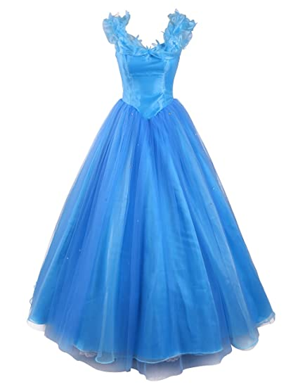 Dresstells reg; Princess Cinderella Long Satin Elegant Prom Dresses