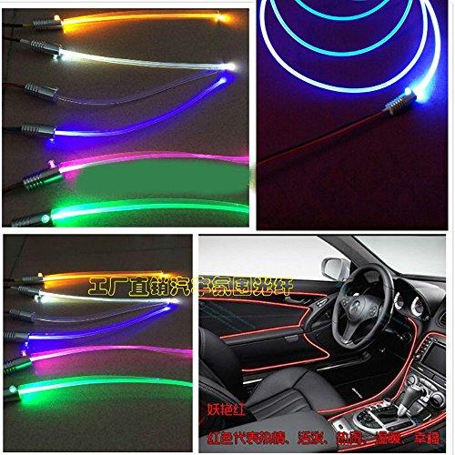 1.5W DC 12V Car Home Light Side Glow Fiber Optic Light