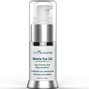 Dark Circles Under Eye Treatment Serum for Puffiness Dark Spot Corrector Age Spot Remover Anti Aging for Puffy Eyes & Brilliant Eye Brightener compare with Eye Cream & Undereye Gel Patches 0.5 oz
