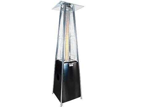 ALTERDJ - Estufa para terraza (12 kW, Acero Inoxidable, 220 cm, con