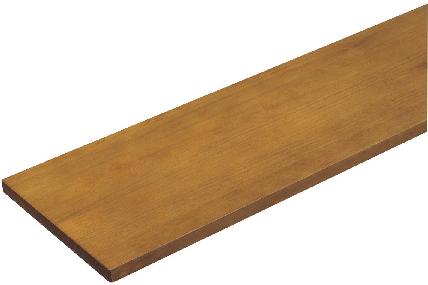 ウッドワン 棚板 ニュージーパイン無垢材 ミディアムブラウン色 糸面 [長さ900x奥行450x厚み18mm] MTR0900N-C1I-MB B074KK6KDW 長さ900|ミディアムブラウン|奥行450 ミディアムブラウン 長さ900