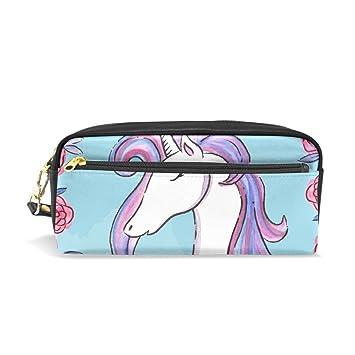 Bonito estuche de unicornio para lápices, estuche para ...