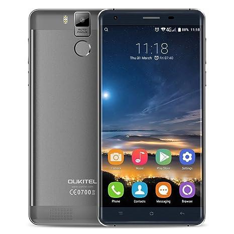 OUKITEL K6000 Pro - Smartphone 4G LTE (Android 6.0, Pantalla 5.5