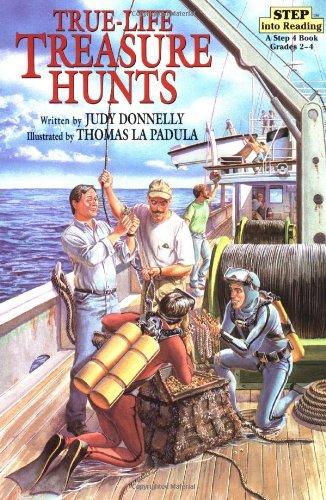 Download True-Life Treasure Hunts (Step-Into-Reading, Step 5) ebook