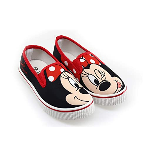 62e25ae984995 Minnie Chaussure en Toile Slip-on Fille  Amazon.fr  Chaussures et Sacs