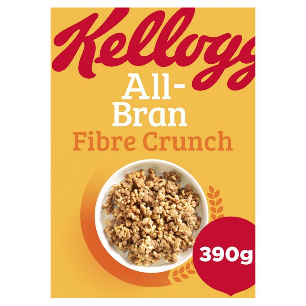 All-Bran Fibre Crunch 390 g, Pack of 6