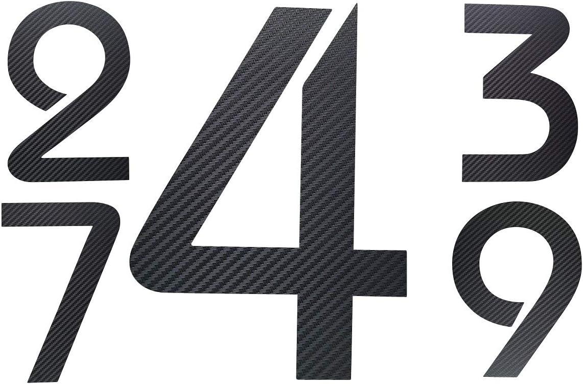 Hauteur 20 cm ITC Bauhaus Design 2D r/ésistant aux intemp/éries V2A dans la boutique 0 1 2 3 4 5 6 7 8 9 a b c Num/éro de maison en acier inoxydable gris gris