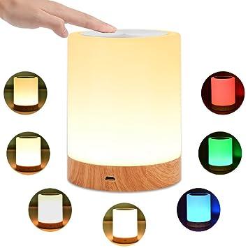 Desinger LED Lámparas de Mesa Lámparas táctiles Lámpara de ...