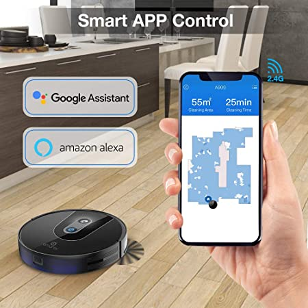 Amarey Robot Vacuum Cleaner with WI-FI