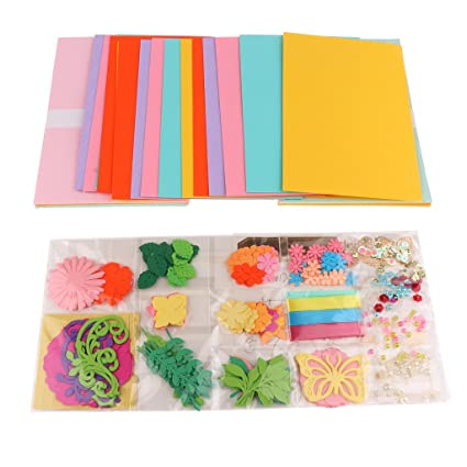 Phenovo Creative Card Making Kits DIY For Birthday Greeting Cards Amazonin Home Kitchen