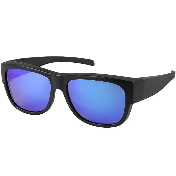 Amazon.com: Fit Over Gafas de sol polarizadas desgaste sobre ...
