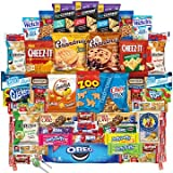 Chips Cookies and Candies Snacks Variety Pack Bulk Sampler Assortment (Care Package 50 Count)