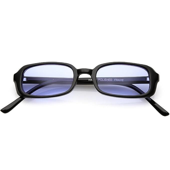 Amazon.com: sunglassla – verdadera Vintage pequeño marco ...