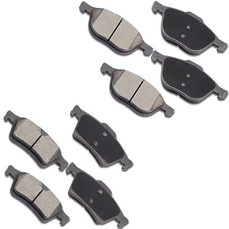 Amazon Com Ocpty Ceramic Brakes Pads Stop Front Rear Brake