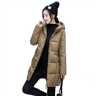 first rate newest style of sale uk Everpert Women's Slim Long Down Winter Coat Zipper Hooded ...