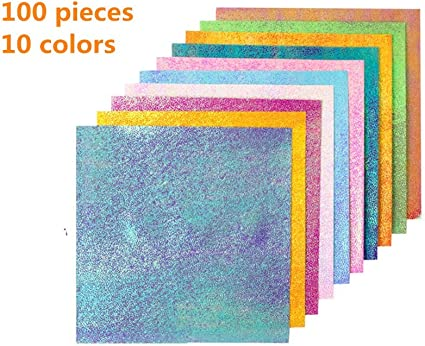 """12/""""Glitter Card Christmas Scrap booking Card making 5 pack  Silver Sparkly Card"""