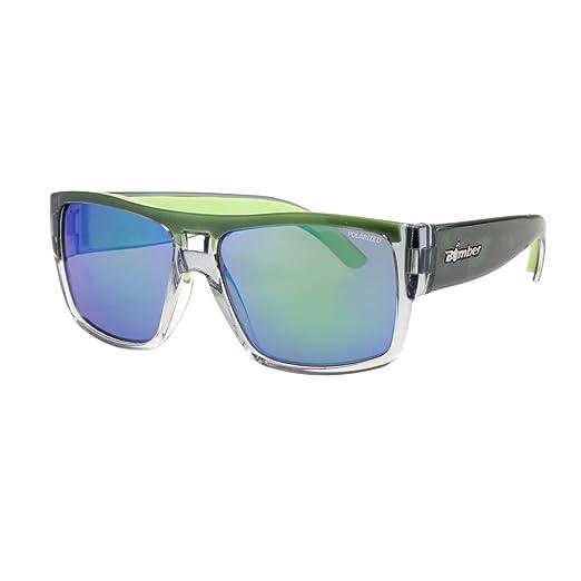94099795c17 Amazon.com  Bomber Irie Floating Eyewear - 2-Tone Crystal Green ...