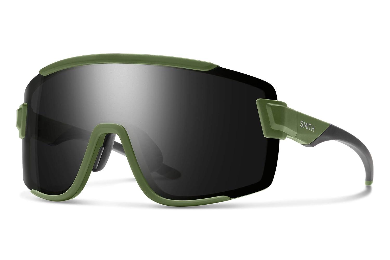 698f691cb Amazon.com : Smith Wildcat Chromapop Sunglasses, Matte Black, Chromapop Sun  Red Mirror/Clear : Sports & Outdoors