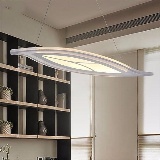 Foglia pendente a LED luci di cucina moderna sospensione acrilico ...
