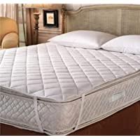 The Home Story Cotton Quilted Waterproof Dustproof Antibacterial Mattress Protector (King Size; 78x72-inch)
