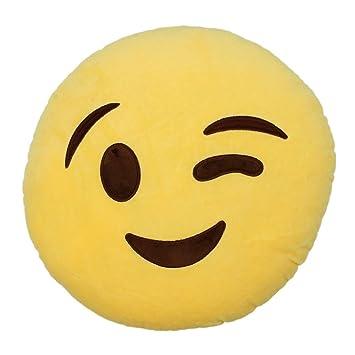 Amazon.com: TOOGOO (R) Caliente Nueva Wink de Emoji Emoticon ...