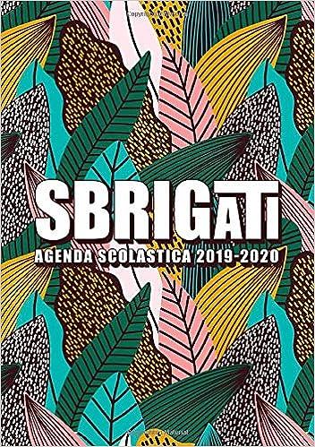 Amazon.com: Sbrigati: Agenda scolastica 2019-2020: 1 ...